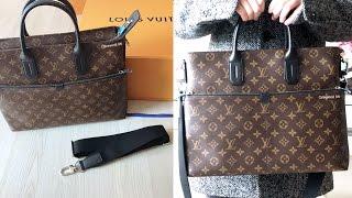 Louis Vuitton Men's Bag 7 Days A Week Monogram Macassar Review