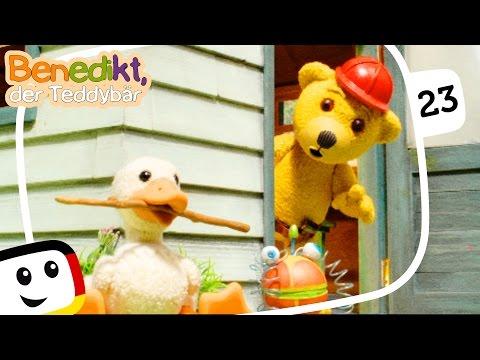 "Benedikt der Teddybär: ""Fleißige Handwerker"" Folge 23 Kinderfilme Animation deutsch toys neue Folgen"