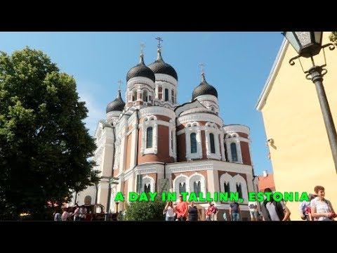 A Day in TALLINN, ESTONIA + travel vlog dherbertsAdventure with the fam