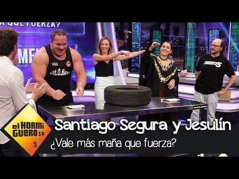 Marta Hazas en El Hormiguero 3.0 - ¿Vale más maña que fuerza?