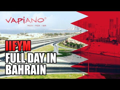 Day in the Life | Trip to Bahrain, iifym Full day of eating, Lifting and more