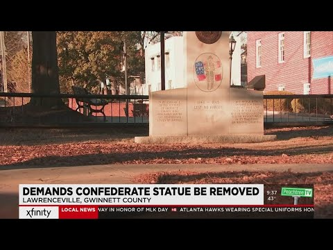 Community speaks up for removal of confederate monument