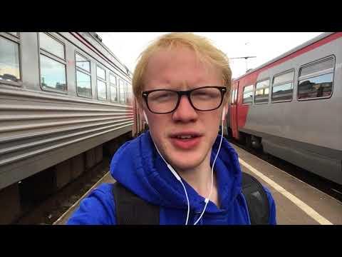 Путешествие на электричках в Новгород через Лугу