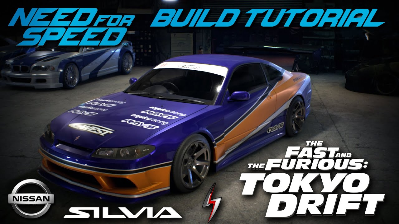 Need for Speed 2015 | Tokyo Drift Han's Nissan Silvia Mona Lisa ...