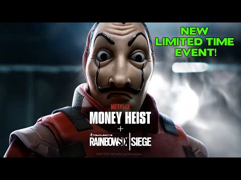Money Heist Limited Time Event in Rainbow Six Siege