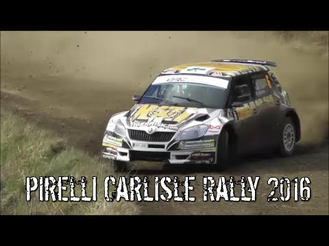 Pirelli Carlisle Rally 2016 + Crash