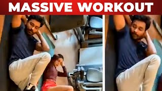 WOW: Dhanush Work out with Superstar Song🔥 | Samantha| Amala Paul| Tamil Actress Workout|News