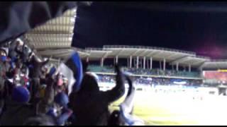 Emotion on Alecoq Arena after Estonia - Uruguay Friendly
