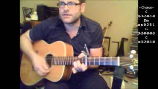 How to play Seasons In The Sun by Terry Jacks on acoustic guitar
