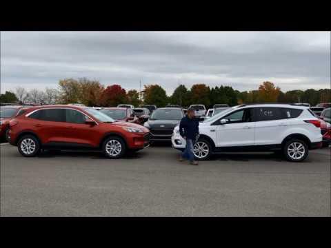 First Look 2020 -vs- 2019 Ford Escape Comparison