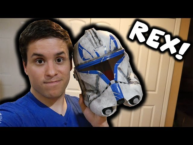 Making a Captain Rex Helmet : Step by Step!