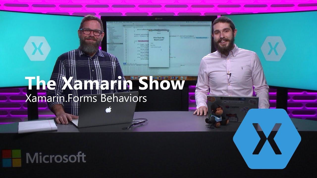 Channel 9-Video: Xamarin.Forms mit Behaviors ausweiten