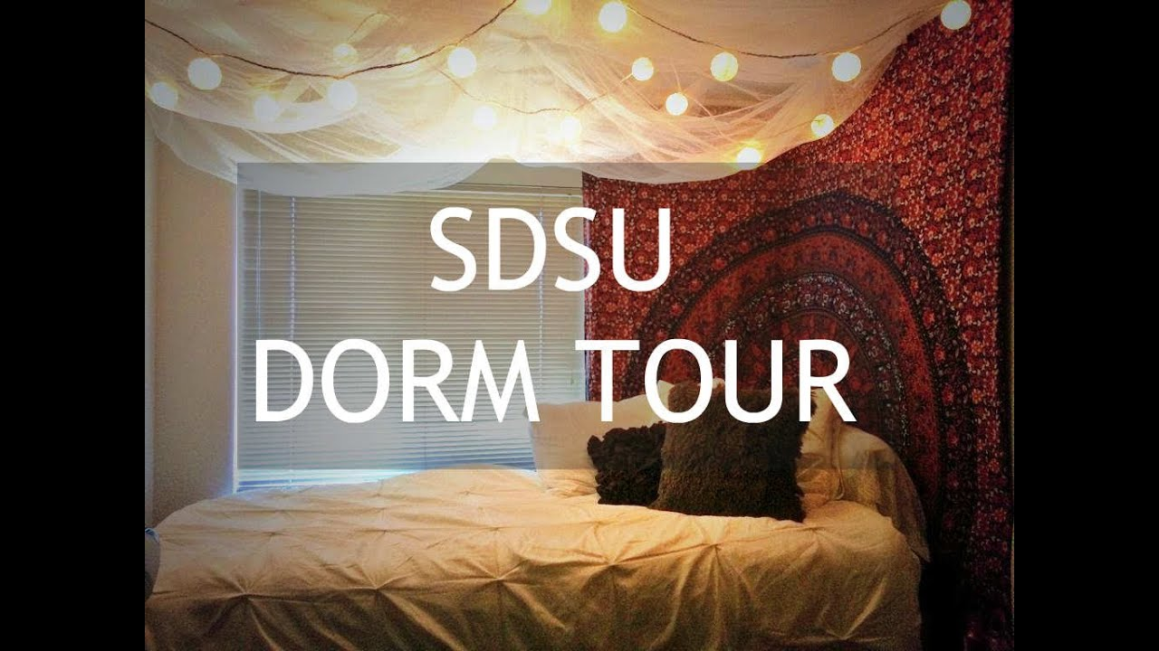 SDSU Cuicacalli Tacuba Dorm Tour   YouTube Part 12