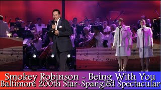 Smokey Robinson - Being With You (2014 Baltimore Star-Spangled Spectacular)