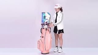 PGM 남녀공용 캐디백 항공클러치 4륜 골프백 골프가방