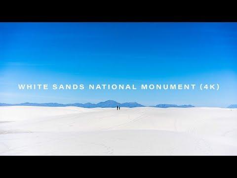 Visual Journal - White Sands National Monument (4K)