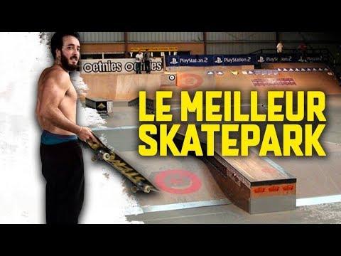 LE MEILLEUR SKATEPARK DE FRANCE ft Dr Nozman