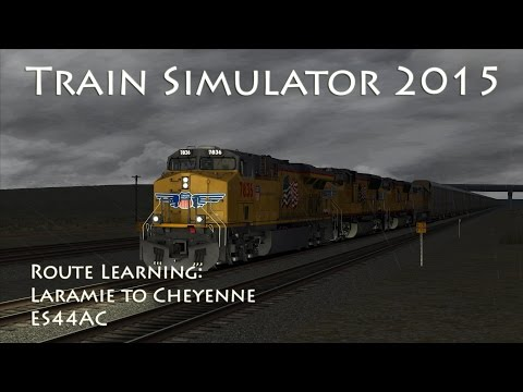 Train Simulator 2015 - Route Learning USA: Sherman Hill Laramie to Cheyenne (ES44AC)