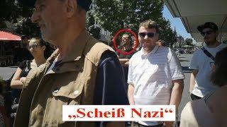 """""""Geschichtslehrer"""" diffamiert Stürzenberger als """"Scheiß Nazi"""""""