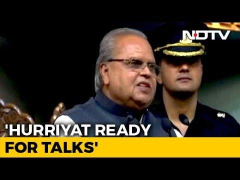 Hurriyat Ready For Talks, Says Jammu And Kashmir Governor