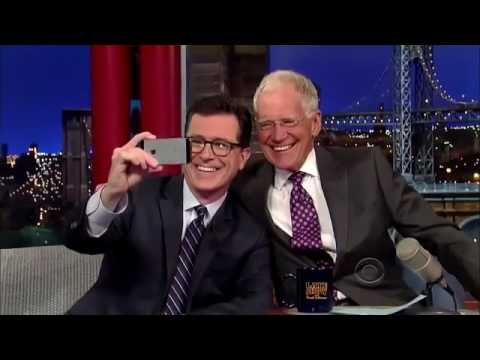 Stephen Colbert Vs David Letterman on Late Show