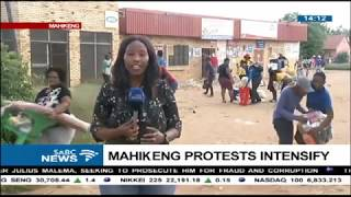 Shops looted in Mahikeng as protests intensify