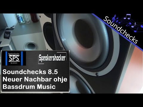 Soundcheck 8.5 Bassdrum Music Mikrofon Kaputt neuer Nachbar Depeche Mode