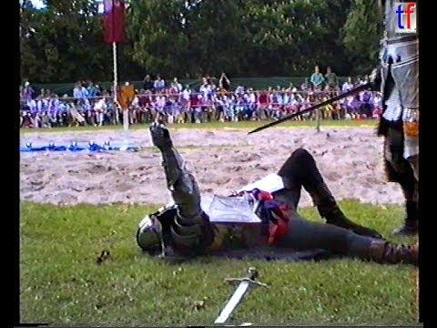 MEDIEVAL KNIGHTS GAMES / Ritterspiele Ludwigsburg, Germany, 22.05.1992.