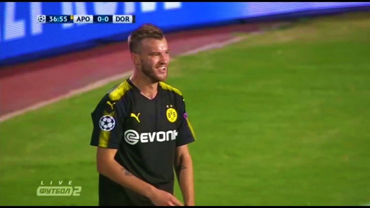 Andriy Yarmolenko vs APOEL Away 17 10 2017