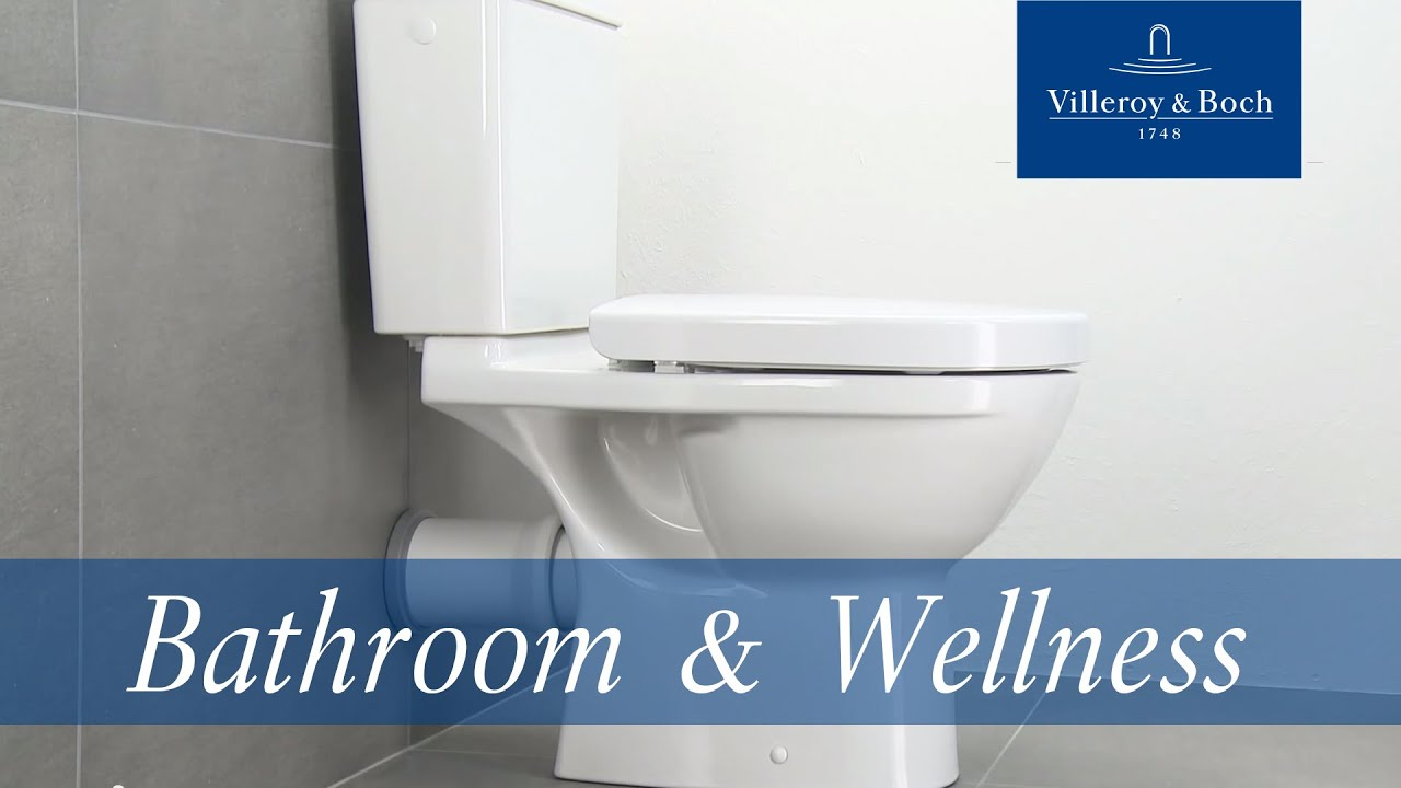 how to install floorstanding wc villeroy boch youtube. Black Bedroom Furniture Sets. Home Design Ideas