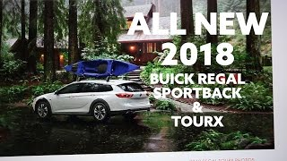 ALL NEW 2018 Buick Regal Sportback and TourX