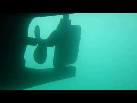 """Underwater Hull Inspection """"South Wind"""" 3 Dec 16."""