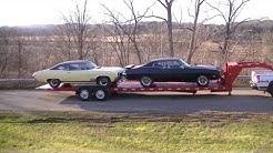 SLOAN Kwik Load Texas Rollback 2 Car gooseneck Trailer NO RESERVE 3 DAY! VIDEO!!