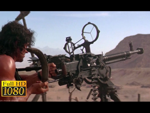 Rambo 3 (1988) - Rambo Destroy The Chopper Scene (1080p) FULL HD