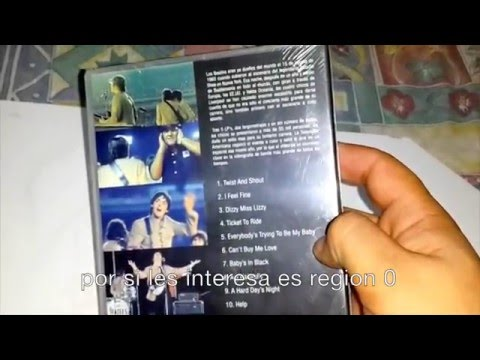 The Beatles Dvd Shea Stadium 1965 Edit Version Bootleg Sub Español Youtube