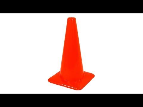 Honeywell 18-Inch High Visibility Orange Safety Traffic Cone (RWS-50011)