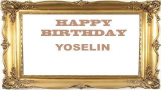 Yoselin   Birthday Postcards & Postales - Happy Birthday