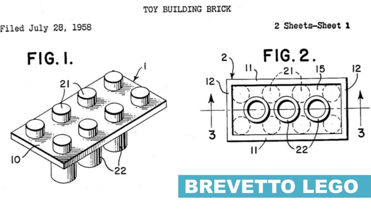 LEGO: il Brevetto del Mattoncino che rivoluzionò il mondo dei Giocattoli