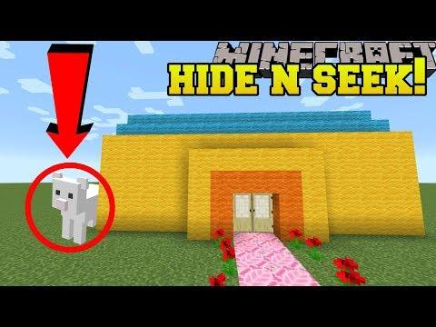 Minecraft: CLOUD HIDE AND SEEK!! - Morph Hide And Seek - Modded Mini-Game