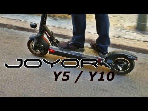 HASTA 100KM DE AUTONOMÍA!!! JOYOR Y5 / Y10 - UNBOXING&REVIEW