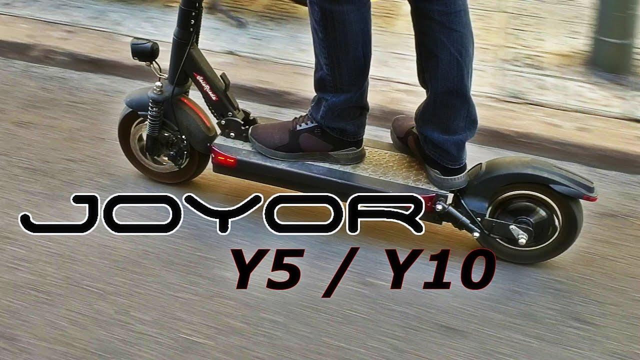 HASTA 100KM DE AUTONOMÍA!!! JOYOR Y5 / Y10 - UNBOXING&REVIEW- SOLORUEDA