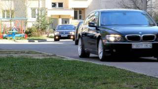 Свадебный кортеж BMW 7 (E65,E66)