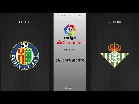 Calentamiento Getafe vs R. Betis