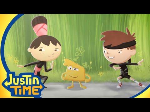 Justin Becomes A Ninja! | Justin Time Season 1