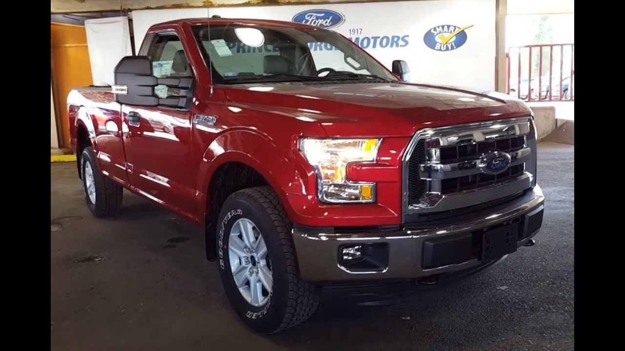 "2016 Ford F-150 4WD Reg Cab 141"" XLT 2 Door Pickup - YouTube"