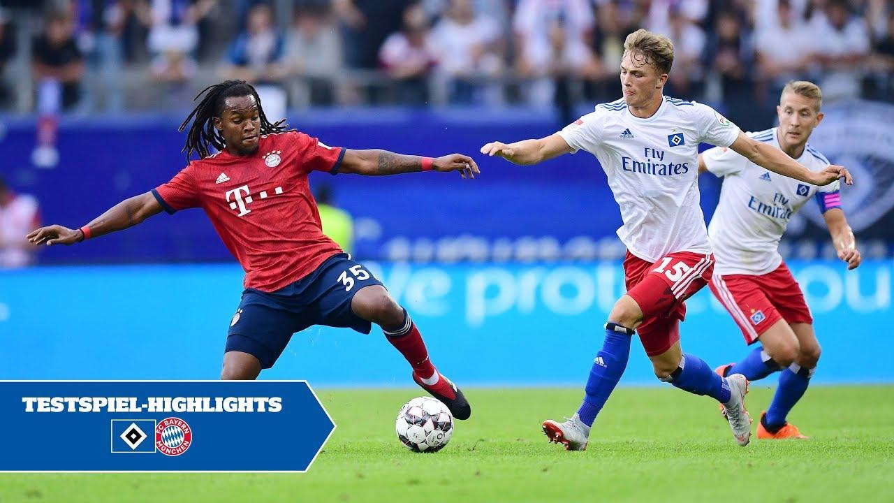 Hsv Vs Fc Bayern Munchen Testspiel Highlights Youtube
