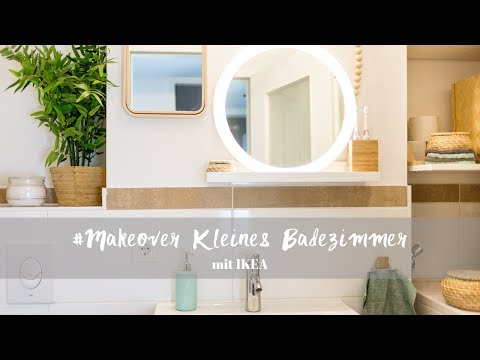 Makeover – Kleines Badezimmer – Vorher/Nachher mit IKEA ...