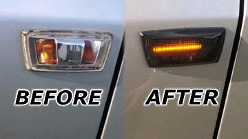 Installing Vauxhall Dynamic Sweeping Smoked LED Indicator Lenses | Astra Adam Corsa Insignia Zafira