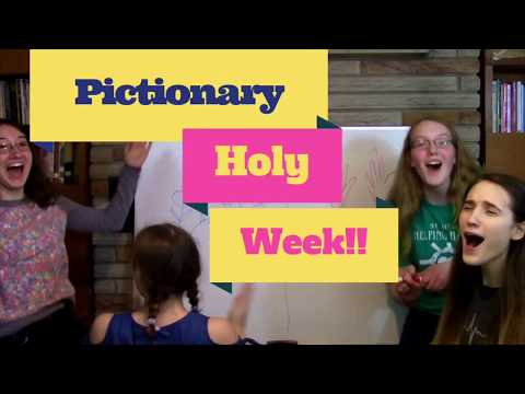 Pictionary for Holy Week?
