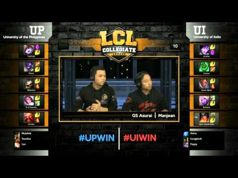 LCL 2016 Spring Term - Semi Finals - UP vs UI Best of 3: Game 3